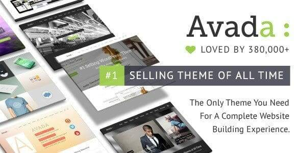 Avada Premium WordPress Themes 2018