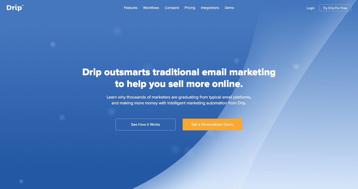 Drip Email Marketing Solution 2018