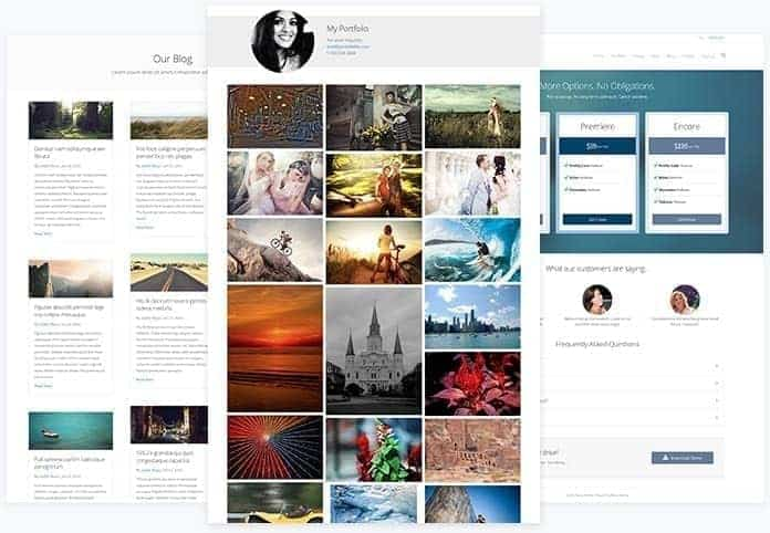 beaver builder content page template