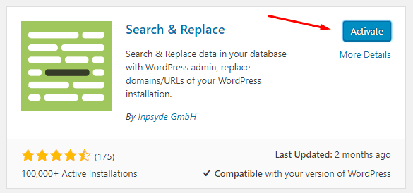 How_To_activate_WordPressl_plugin_Find_And_Replace_Text_In_MySQL Step by Step Guide To Find And Replace URLs In Your WordPress Database Blog WordPress