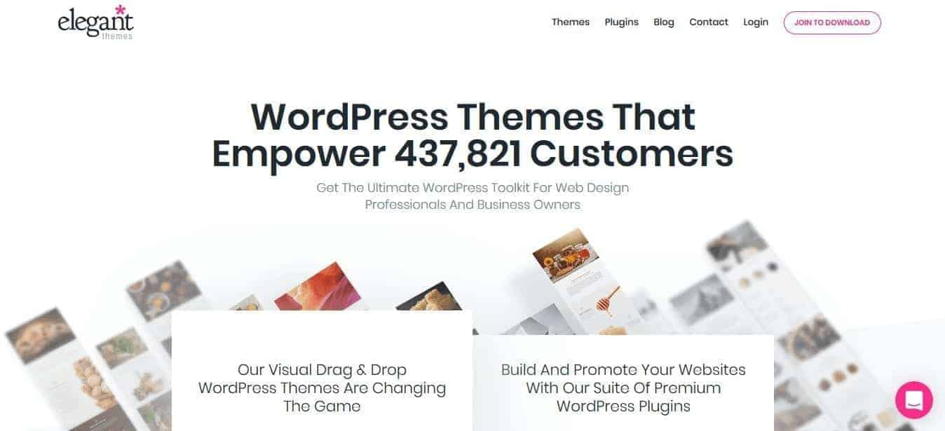 Elegant Themes WordPress Themes Dimensions Cm