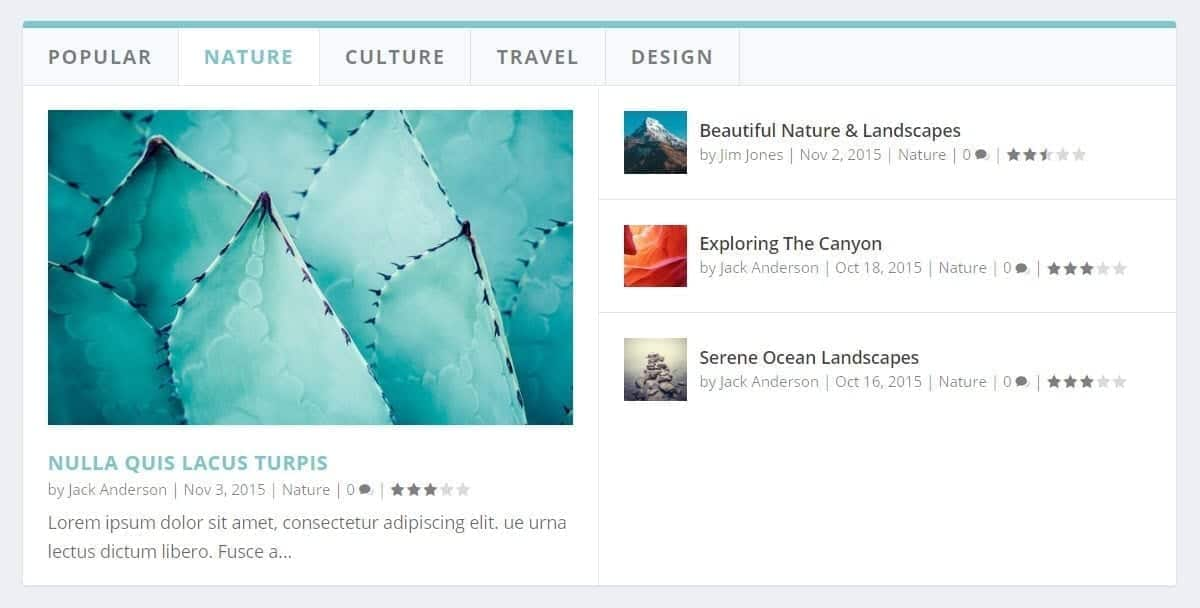 perfect homepage design