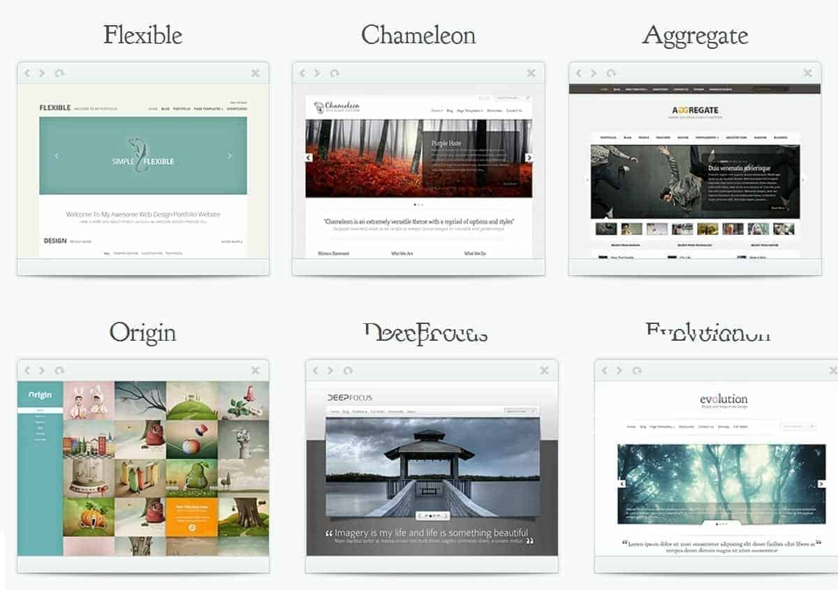 wordpress themes by elegant themes