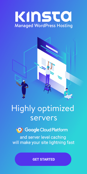 Kinsta managed wordpress hosting on Google cloud platform