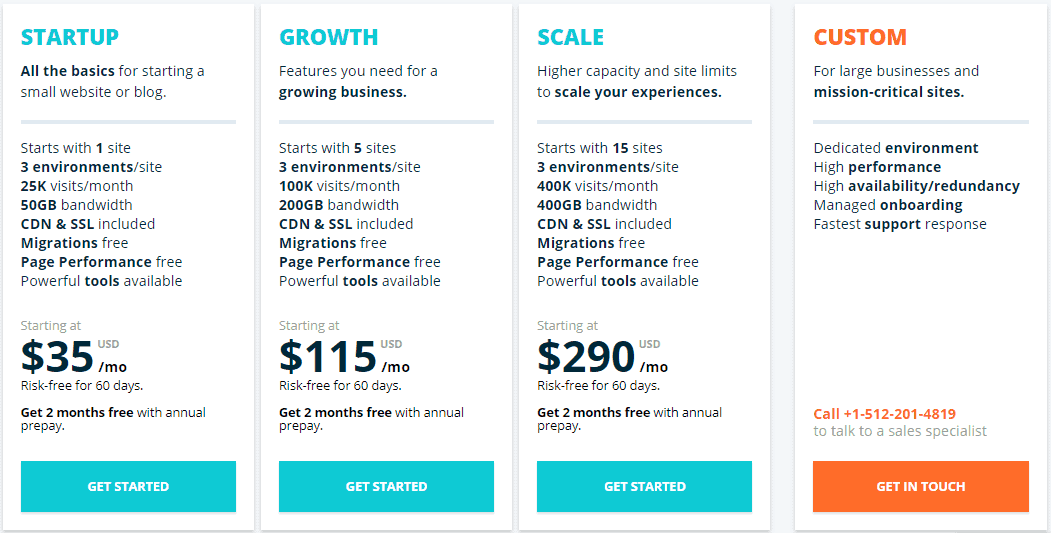 wpengine hosting pricing change