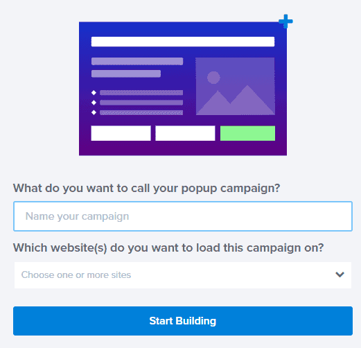 Build Opt In Form Using OptinMonster