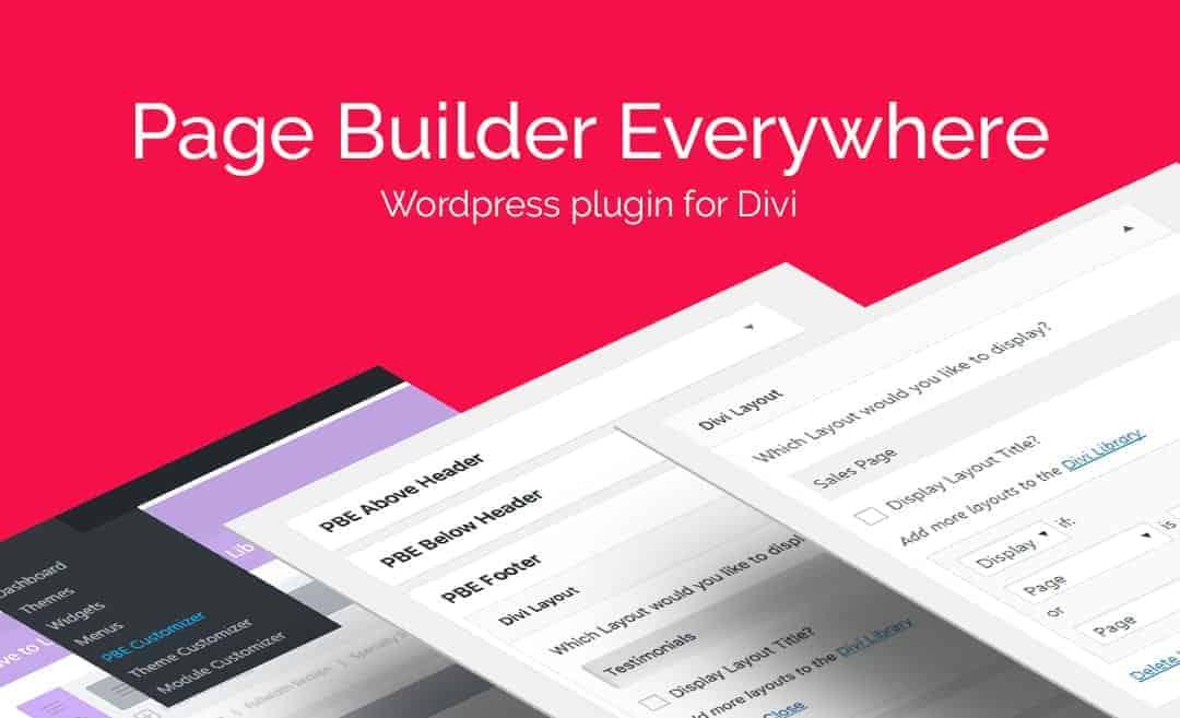 Divi-Builder-Plugin Top 5 LeadPages Competitors For 2019 Blog Leadership Online Marketing Strategies WordPress