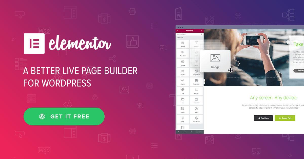 Elementor-Best-Free-WordPress-Theme Top 5 WordPress Themes for Bloggers in 2019 WordPress Blog Online Marketing