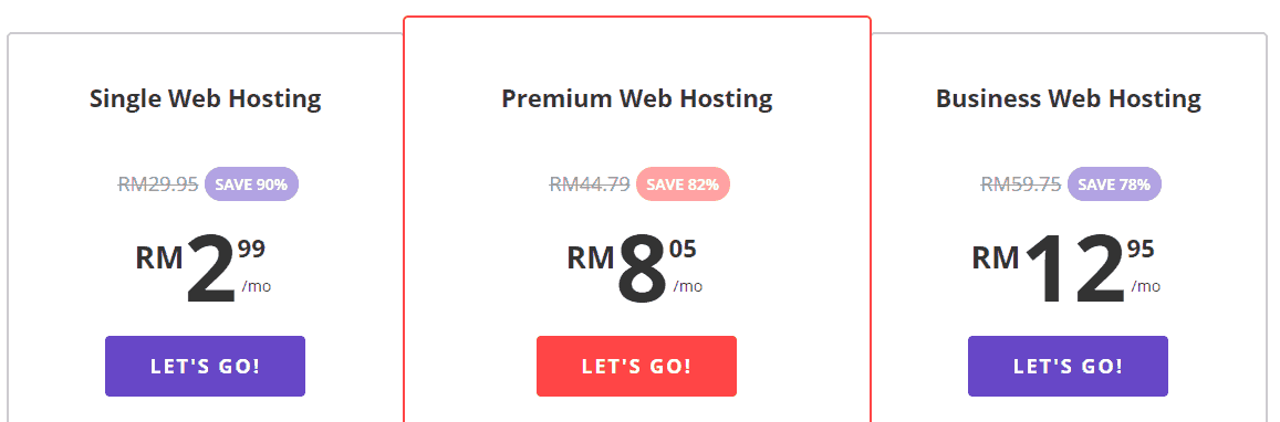 Hostinger Best Web Hosting Malaysia Pricing