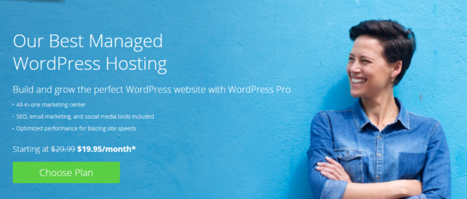 BlueHost WordPress Pro Review