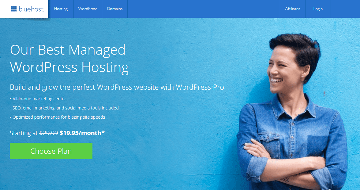 BlueHost WordPress Pro