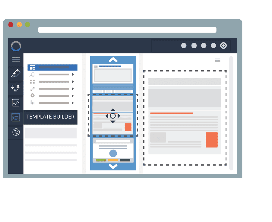 What is a landing page builder