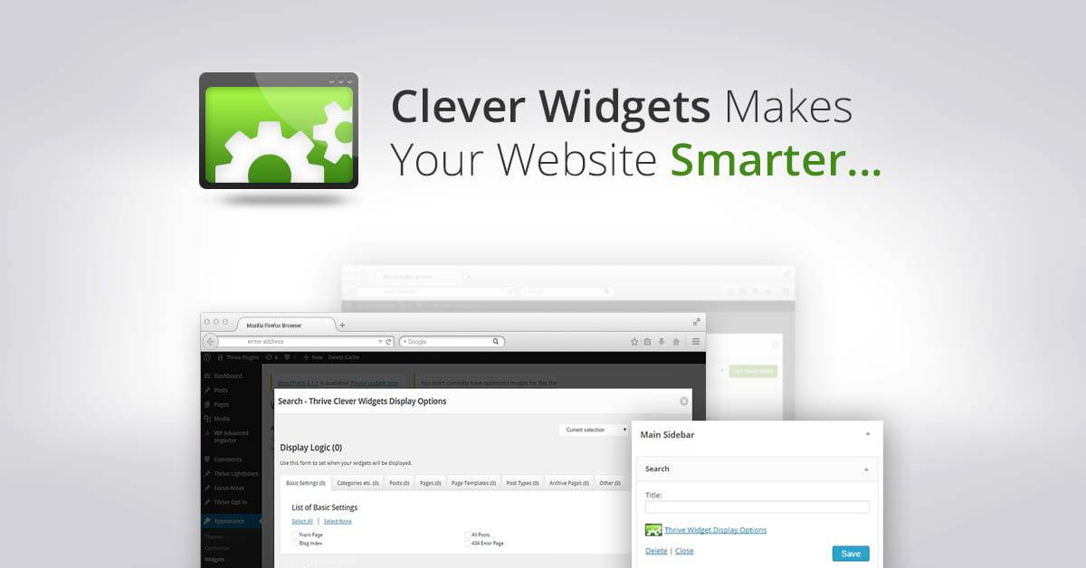 Clever WIdgets by Thrive Themes