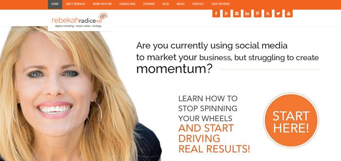 Rebekah Radice Social Media Blog