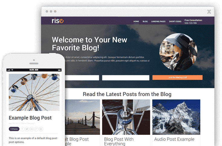 WordPress Themes Review