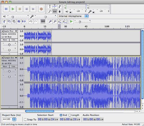 Adding Music To Podcast Using Audacity