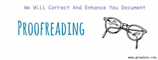 Gramlee Proofreading Jobs From Home