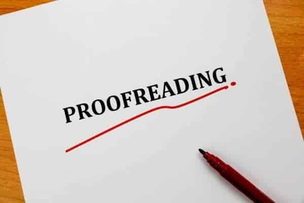 Make Money From Home With Proofreading