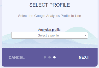 Select Analytics Profile On MonsterInsights