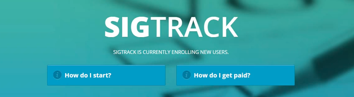 SigTrack Work From Home Jobs