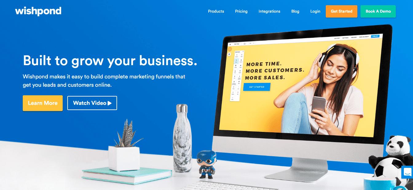Wishpond Best Landing Page Builder 2019