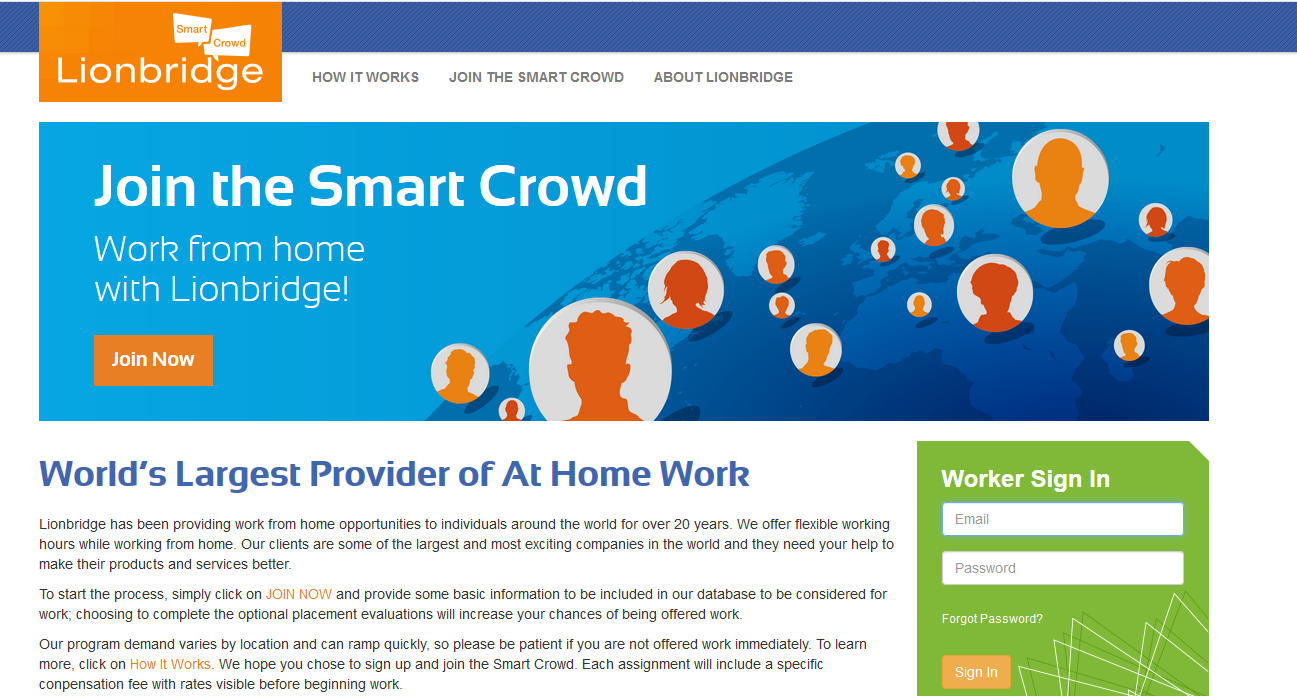 Work From Home With Smart Crowd