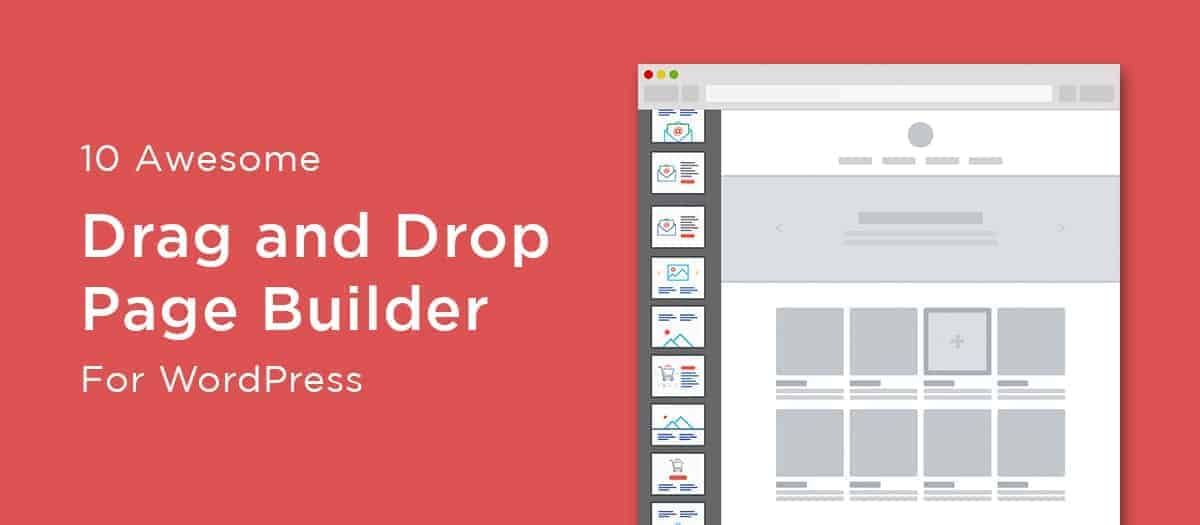 10 Best Drag and Drop WordPress Builders 2019