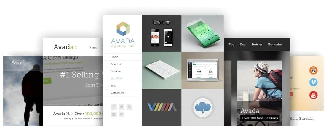 Avada Drag and Drop WordPress Builder