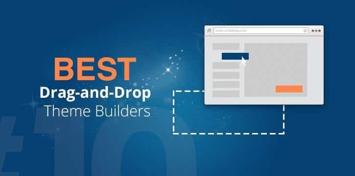 Best Drag and Drop WordPress Builder 2019
