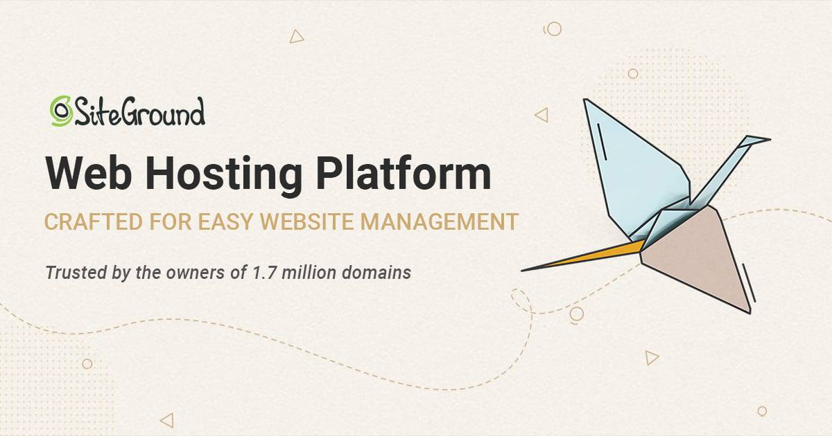 SiteGround Fastest WordPress Hosting