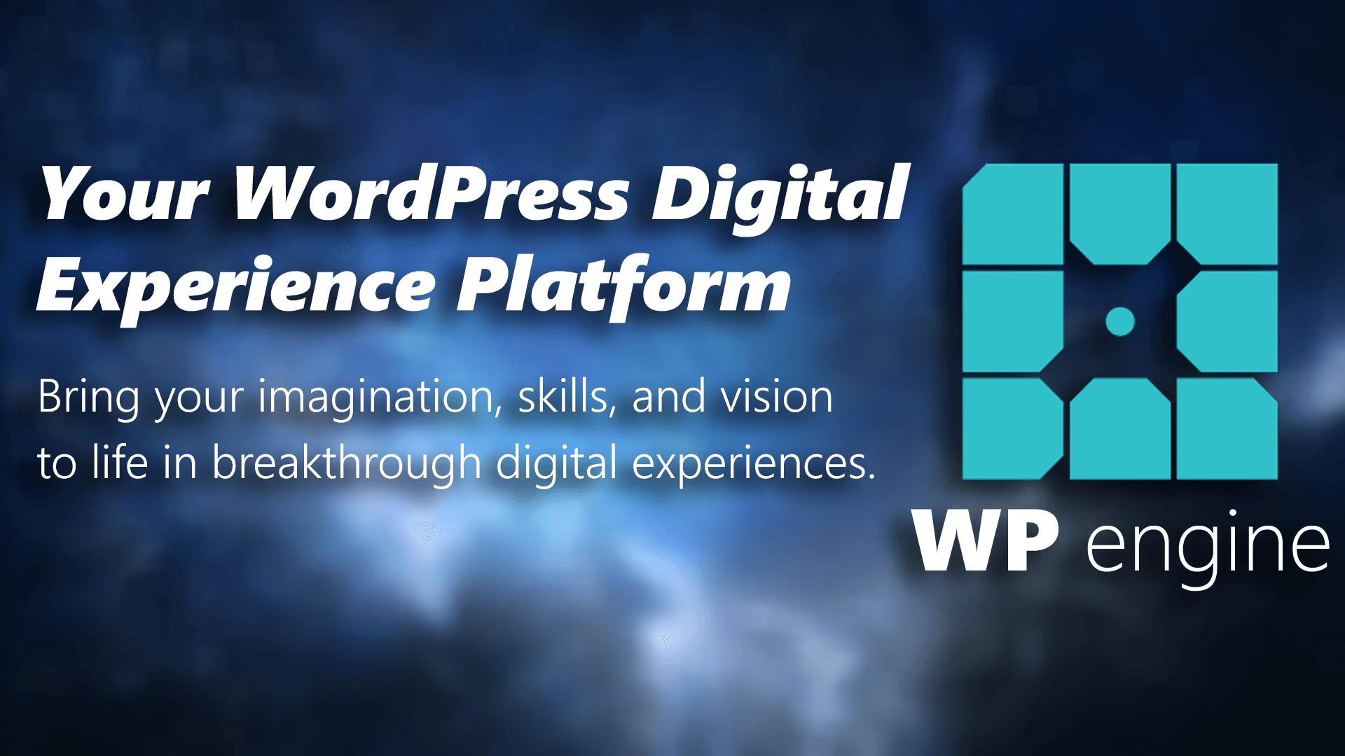 WP Engine Fastest WordPress Hosting