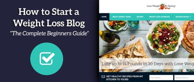 Comment commencer un blog de perte de poids