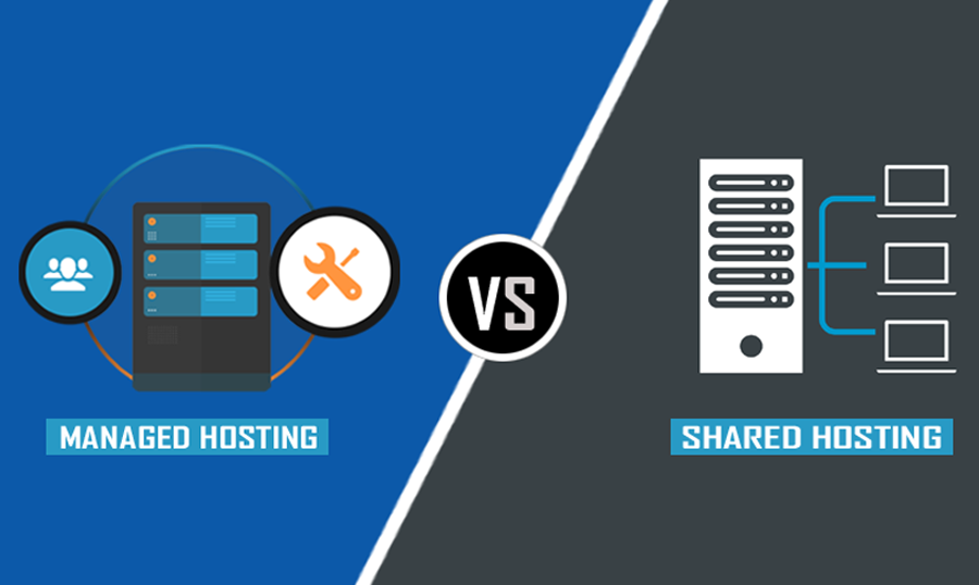Managed Hosting Versus Shared Hosting