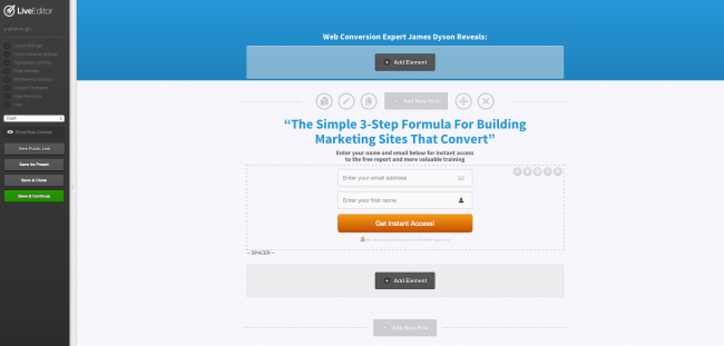 OptimizePress Landing Page Builder
