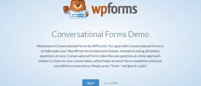 What Is Conversational Forms by WPForms?