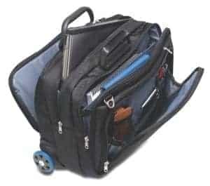 Kensington Contour Roller Briefcase