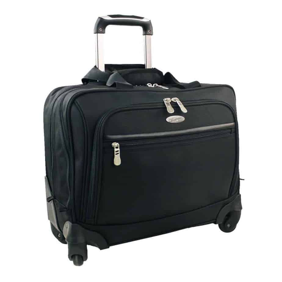 Olympia Luggage Deluxe Rolling Tote