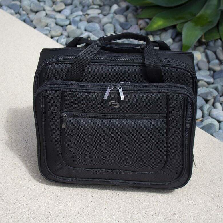 SOLO-New-York-Bryant-Rolling-Laptop-Bag-Review Top 10 Best Rolling Briefcases for Business Travel Blog Lifestyle