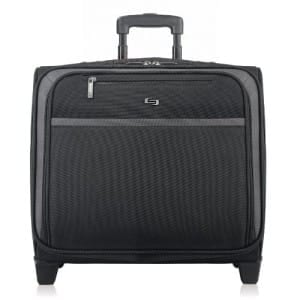 SOLO-Sterling-Overnighter-Rolling-Briefcases Top 10 Best Rolling Briefcases for Business Travel Blog Lifestyle