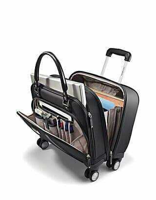 Samsonite Women Spinner Mobile Office Review