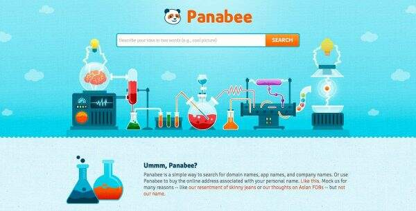 Choose A Blog Name Using Panabee