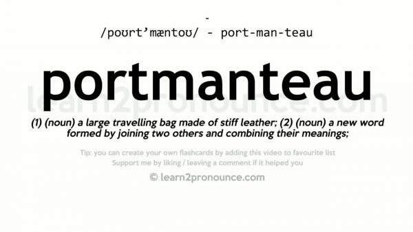 Choose A Blog Name With Portmanteau