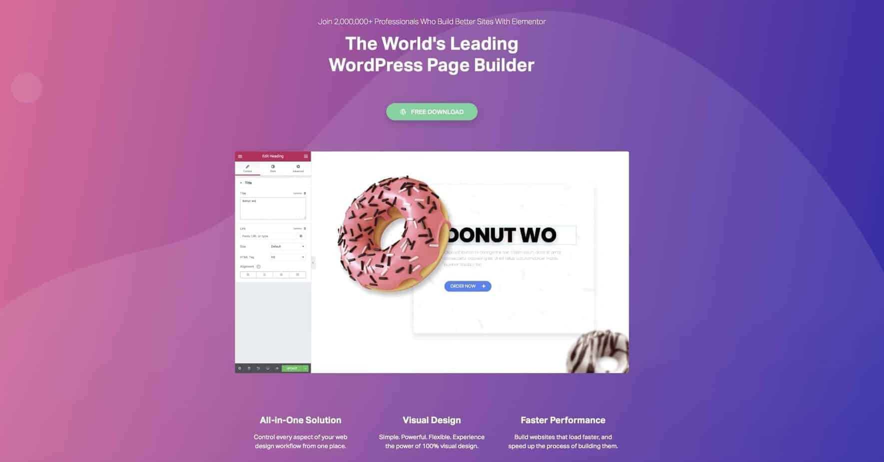 Elementor Review Best WordPress Page Builder