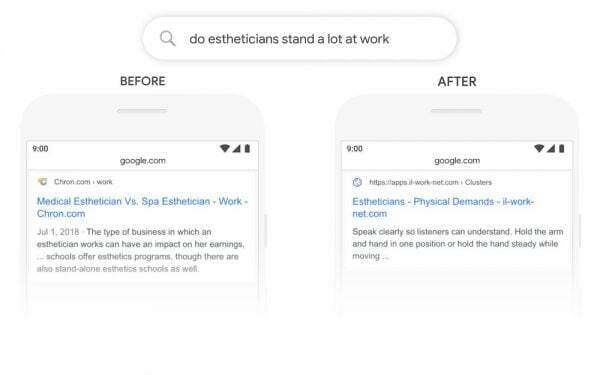 Google BERT Update Impacts Search Results