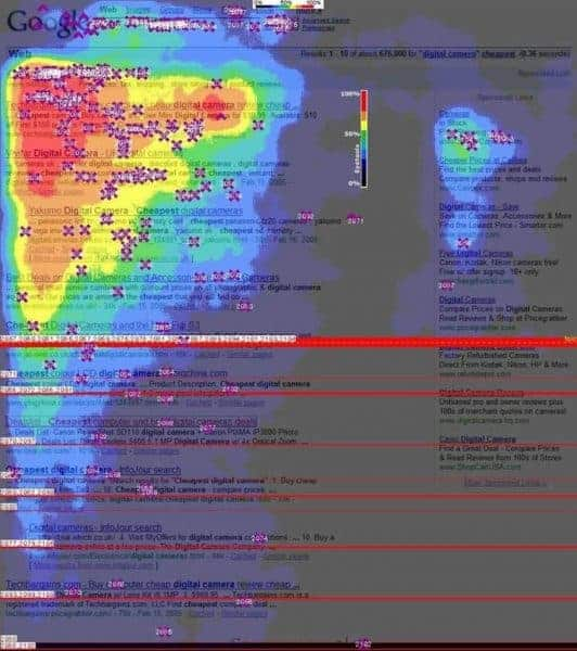 Google Search Heat Map