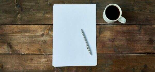 Pen And Paper To Choose A Blog Name
