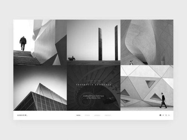 Which is the best WP theme for an architecture website