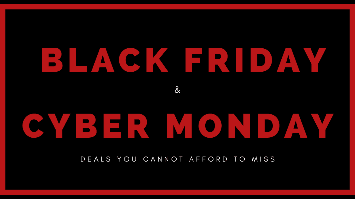 Black Friday Cyber Monday Deals for Bloggers