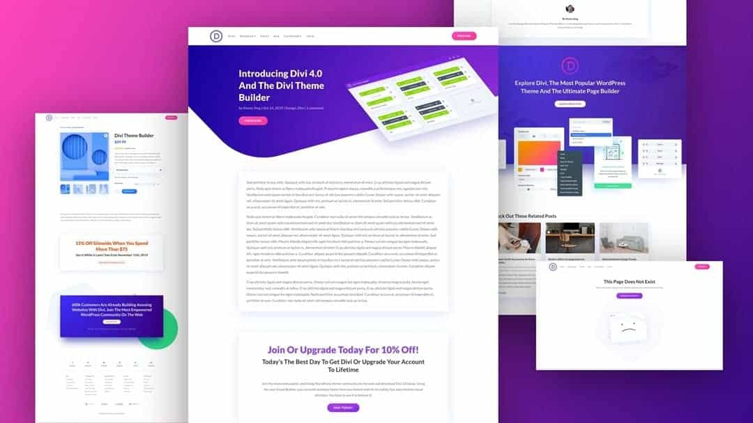 Divi Theme Black Friday Cyber Monday Deal