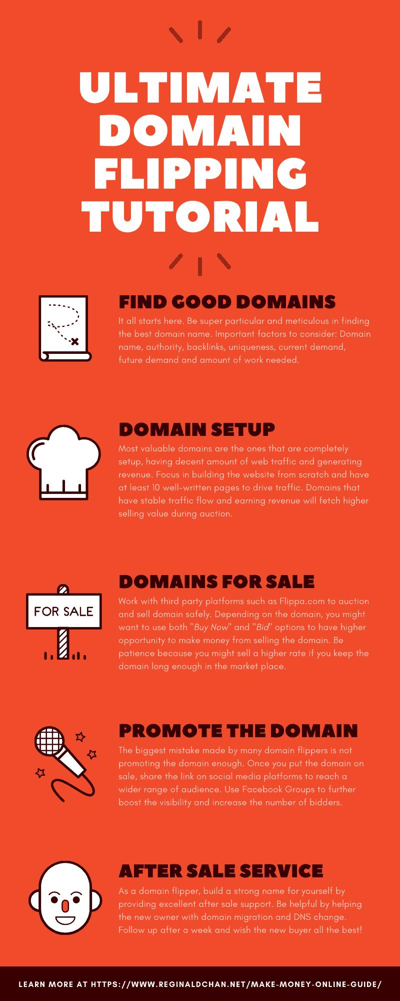 ULTIMATE Domain Flipping Tutorial Make Money Online Guide